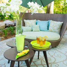 Midcentury Patio by Fusion Designed