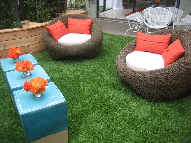 Modern Patio Mid century patio