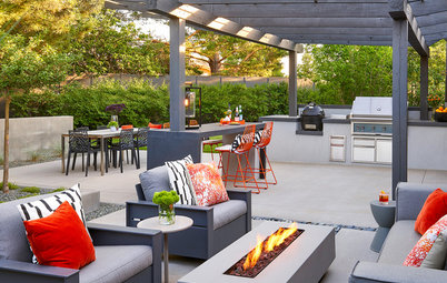 Patio of the Week: A New Oasis for a  Midcentury Modern Ranch