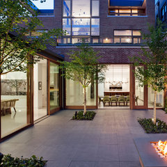 contemporary patio by Vinci | Hamp Architects