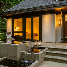 Contemporary Patio by Christopher Developments