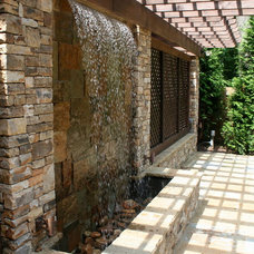 Mediterranean Patio by Boyce Design and Contracting, LLC