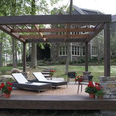 Contemporary Patio by Gradison Design Build