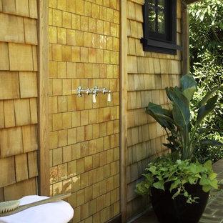 Foto di un patio o portico chic