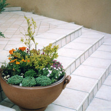 Traditional Patio by Nadin