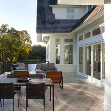 Contemporary Patio by Charlie & Co. Design, Ltd