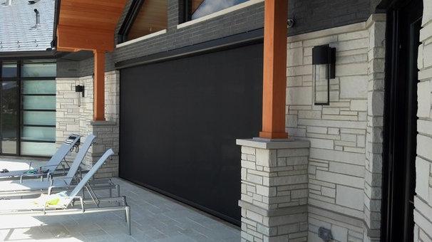 Modern Patio by Retractable Screens, LLC