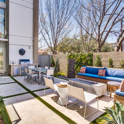 Patio - modern patio idea in Dallas