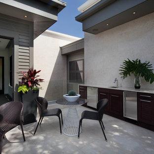 Bon Inspiration For A Contemporary Patio Kitchen Remodel In Orlando
