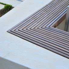 Modern Patio by AFLA-Landscape Design
