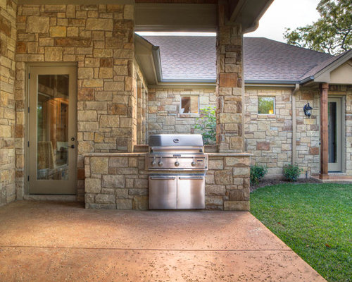 Built In Grill Houzz
