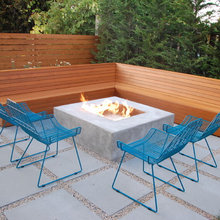 firepit benches