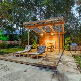 Foto di un patio o portico minimal
