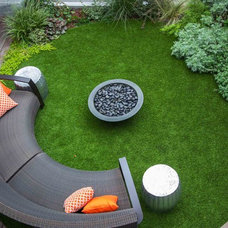 Contemporary Patio by Outside Space NYC Landscape Design
