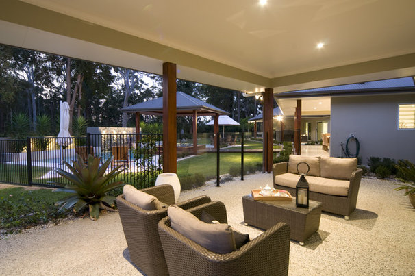 Modern Patio by Soul Space