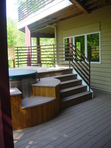 Modern Patio by Next Level Renovation