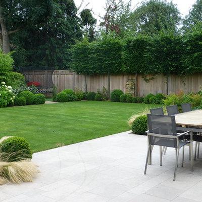 Patio - contemporary patio idea in London with no cover