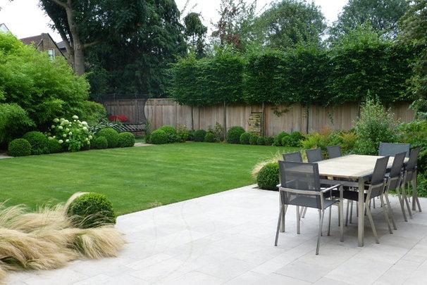 Contemporary Patio by Garden Arts