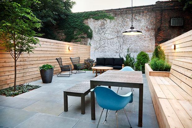 Giardino o terrazza lungo e stretto come fare for Arredare terrazzi piccoli