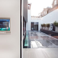 Modern Patio by Olive Audio Visual