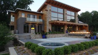 Modern Lake Front Estate