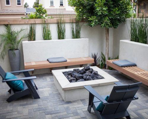 Fotos de patios dise os de patios modernos con adoquines - Azulejos para patio ...