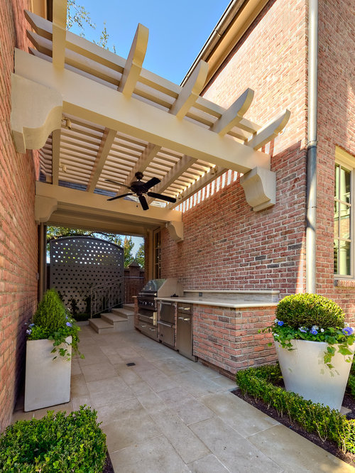 Great Inspiration For A Modern Patio Remodel In Dallas With A Pergola