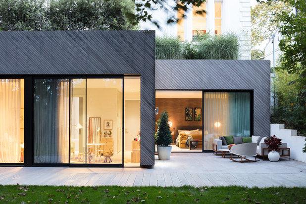 Architektenhaus Innen houzzbesuch dieses architektenhaus strahlt jetzt innen