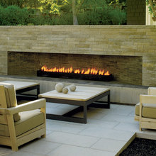 Modern Outdoor Fire Place