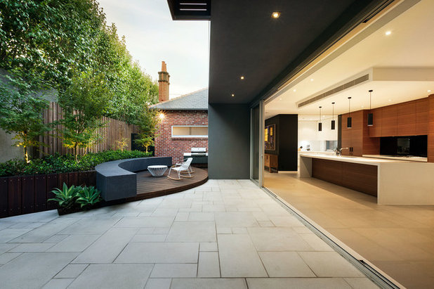 Modern Patio by Anston Architectural