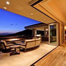 Modern Patio by Eagle Luxury Properties