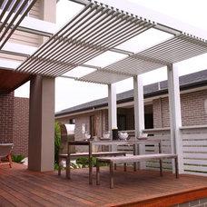 Modern Patio by ecodesign Pty Ltd