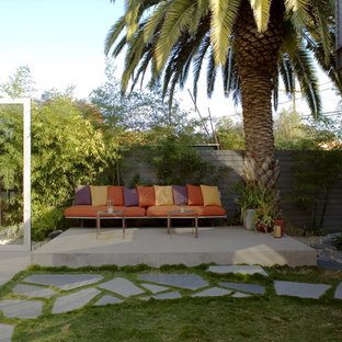 Design ideas for a modern courtyard patio in Los Angeles.