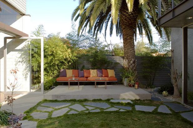 Moderno Patio by Ehrlich Yanai Rhee Chaney Architects