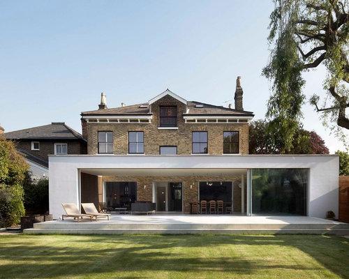 Modern house facades houzz for House facade renovation ideas