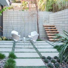 Modern Patio by Nakhshab Development and Design
