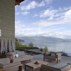 Modern Patio by Balance Associates Architects