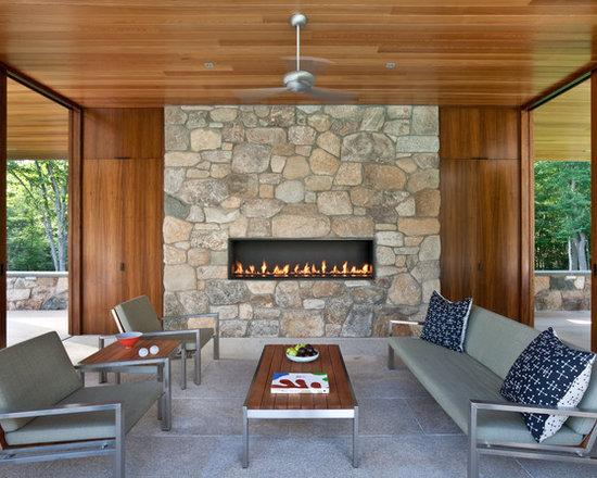 SaveEmailLinear Gas Fireplace   Houzz. Modern Linear Fireplaces. Home Design Ideas