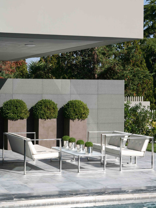 modern patio idea in other