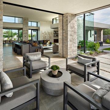 Modern Retreat - Outdoor Living