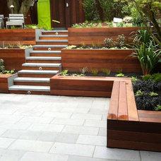 Contemporary Patio by Outdoor Environments
