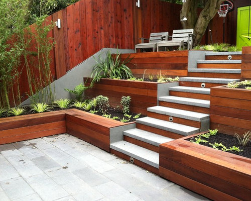 Tiered Patio Design Ideas & Remodel Pictures | Houzz on Tiered Patio Ideas id=98075
