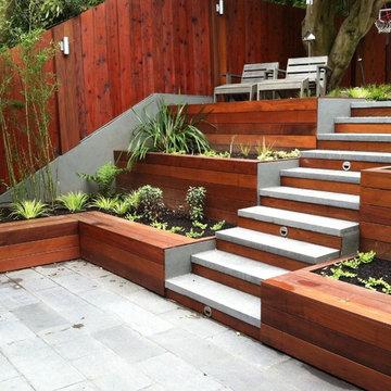 Modern San Francisco Courtyard