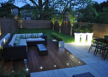 how are the lights installed in this deck