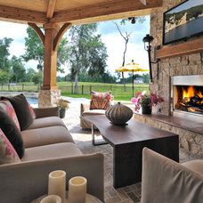 Contemporary Patio by Luxury For The Home