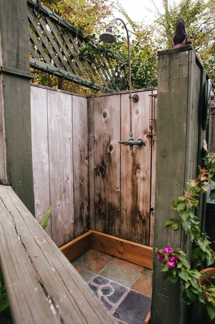 Rustic Patio by Anna Addison Photography