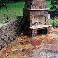 Traditional Patio by Montana Rockworks, Inc