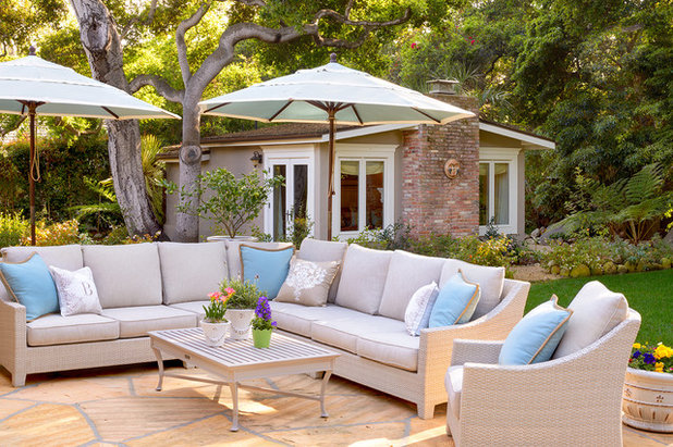 Fabulous Beach Style Patio by Debra Lynn Henno Design
