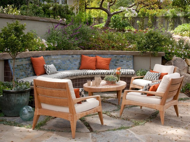 Traditional Patio by Jessica Risko Smith Interior Design