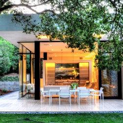 Montecito Residence. Open Concept Patio, Living Room, Kitchen/Bar